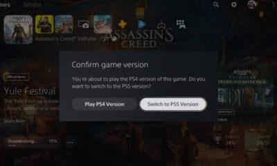PS5 vas bo sedaj opozoril, če zaženete PS4 verzijo igre