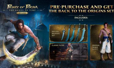 Prince of Persia: The Sands of Time Remake morda na voljo tudi za Switch