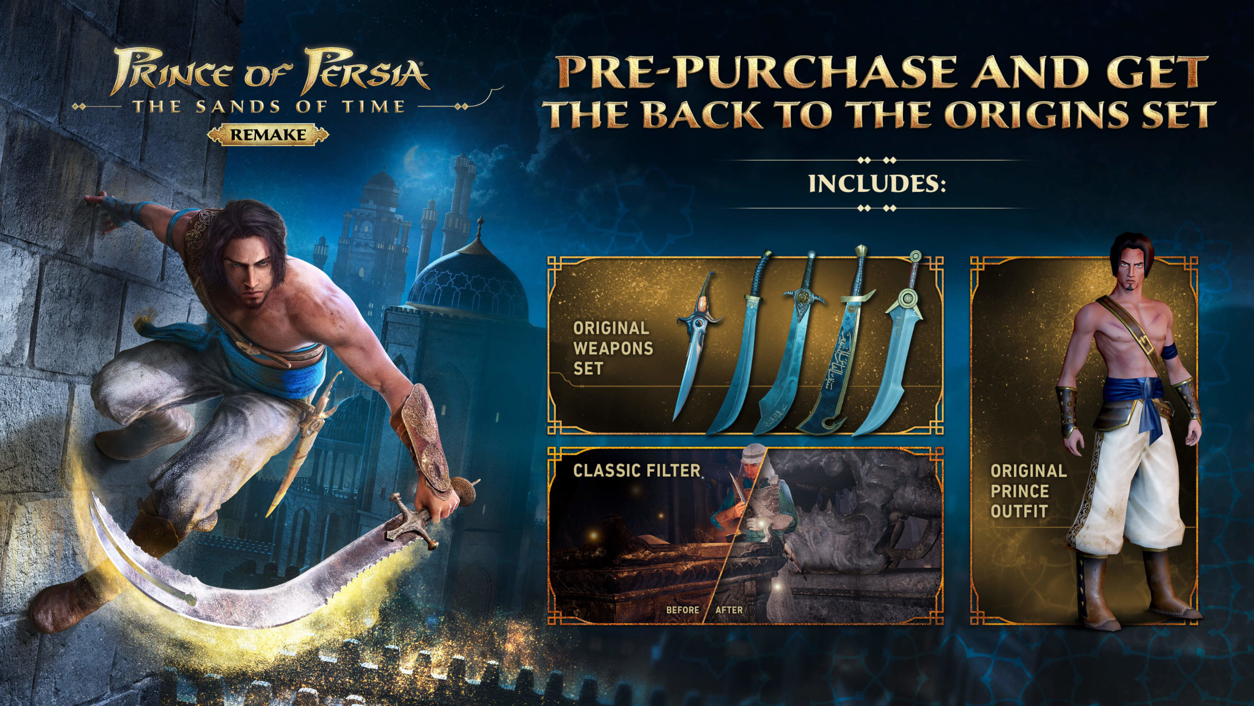 Prince of Persia: The Sands of Time Remake morda na voljo tudi za Switch