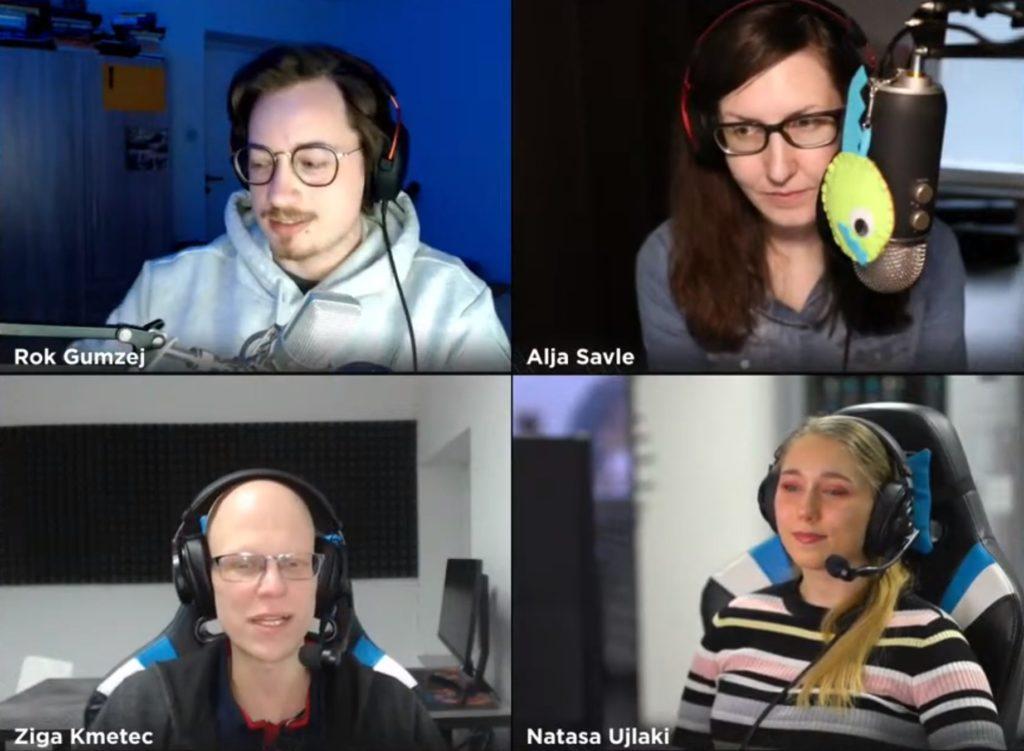 Šesta epizoda Gejmpoda na voljo za poslušanje